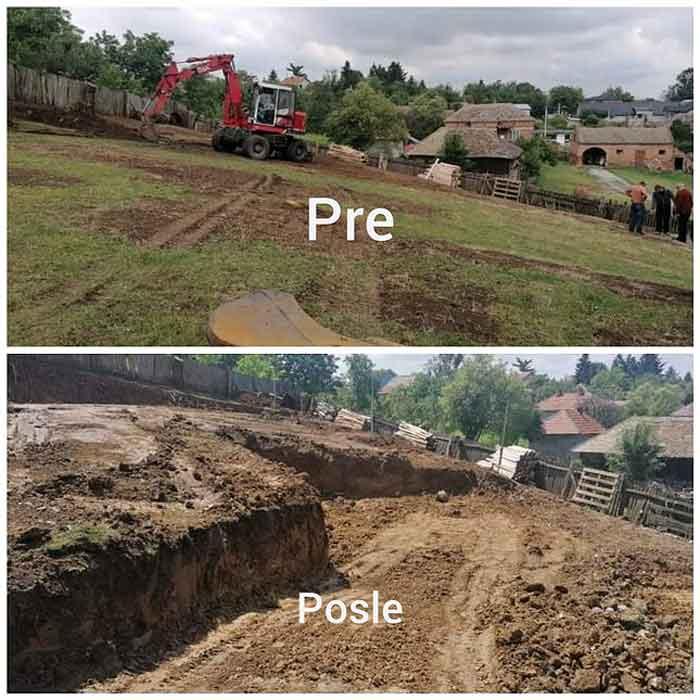 iskopavanje temelja