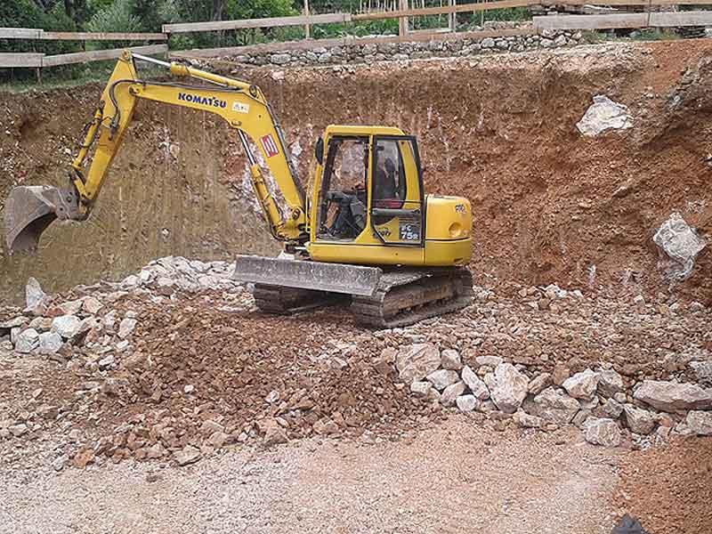 iskopavanje terena